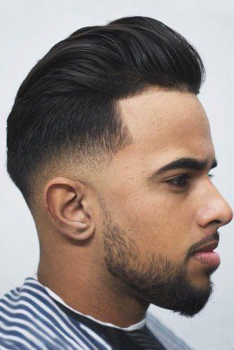 Low Fade With Styled Back Top #menshaircuts #baldfade #skinfade #lowfade #fade