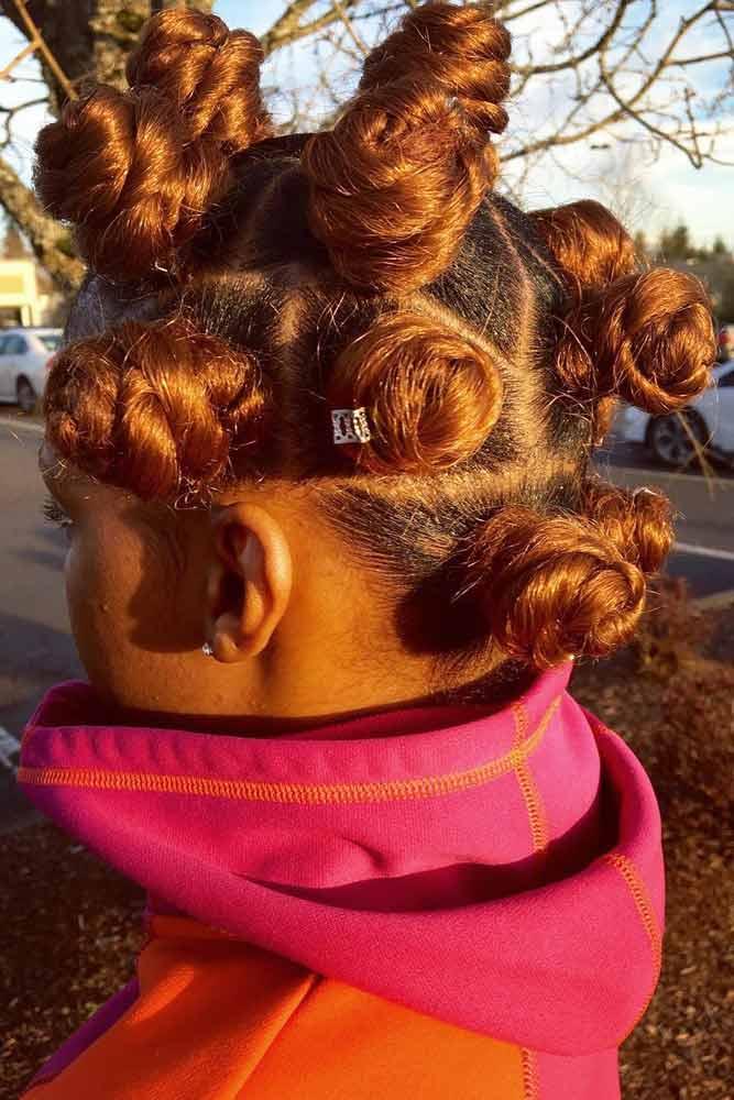 Fall Inspired #bantuknots #hairtype #naturalhair #hairstyles