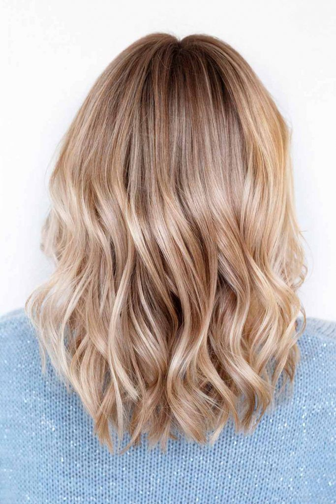 Blonde Beach Waves For Short Hair
