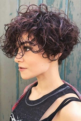 Wet Beach Waves For Pixie-Bob #beachwaves #shorthair #hairstyles #pixiebob #perm