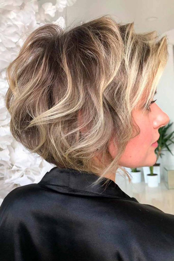 Beach Waves For Layered Pixie-Bob