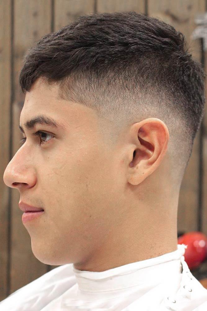 Caesar Haircut With Mid Fade #caesarhaircut #fadehaircut #midfade