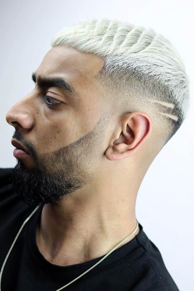 Bleached Caesar Haircut #caesarhaircut #menshaircuts #shorthaircuts