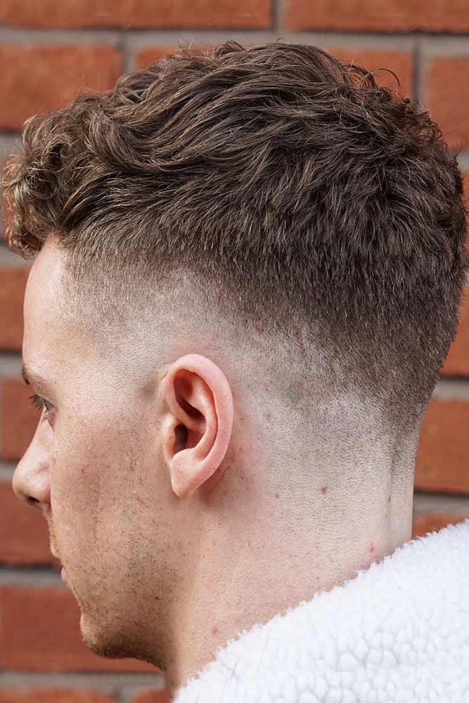 Caesar Haircut With Low Fade #fadehaircut #lowfade #curlytop