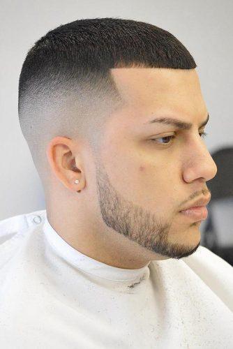 Short Caesar Haircut #Caesarhaircut #buzzcut #highfade