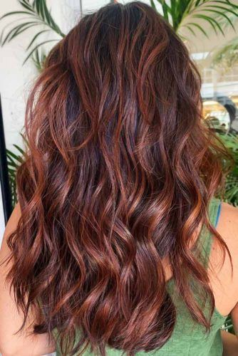 Chestnut With Auburn #chestnuthair