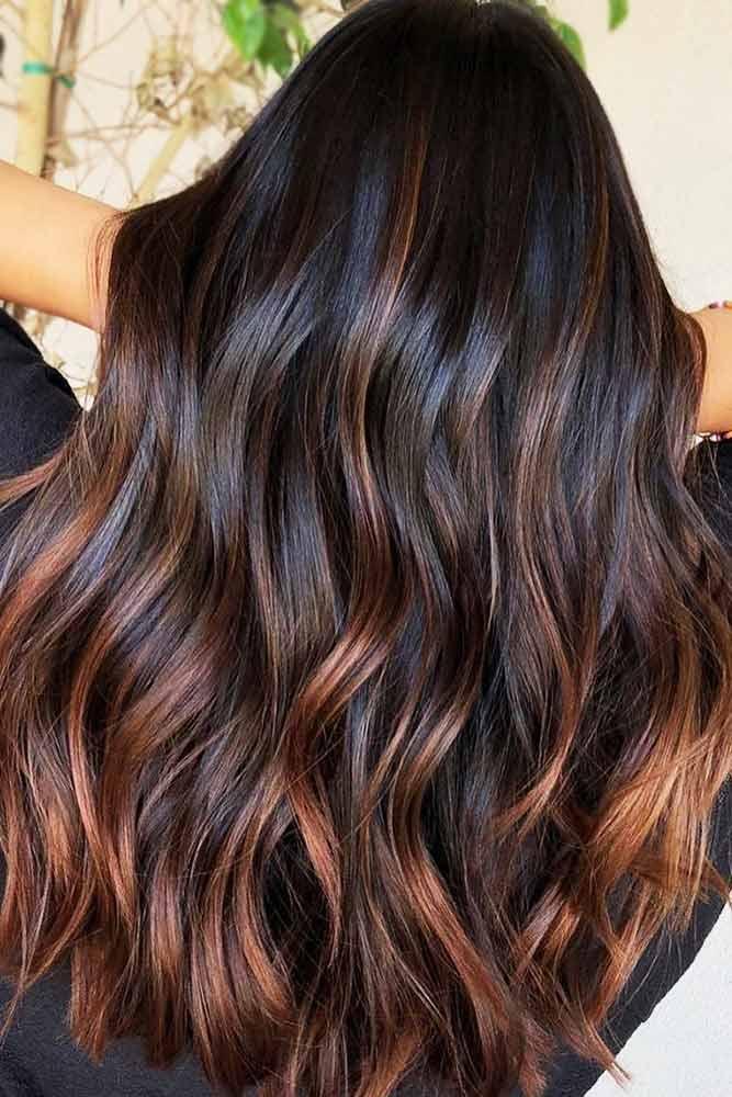 Chestnut Brown Ends #chestnuthair #brownhair #brunette