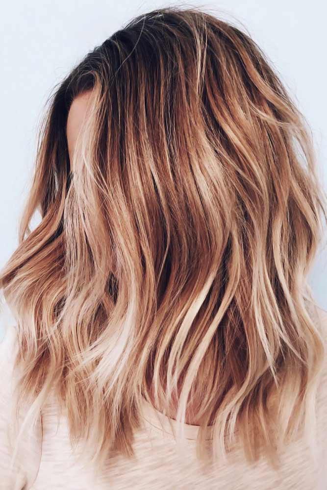 Chestnut With Blonde Highlights #chestnuthair