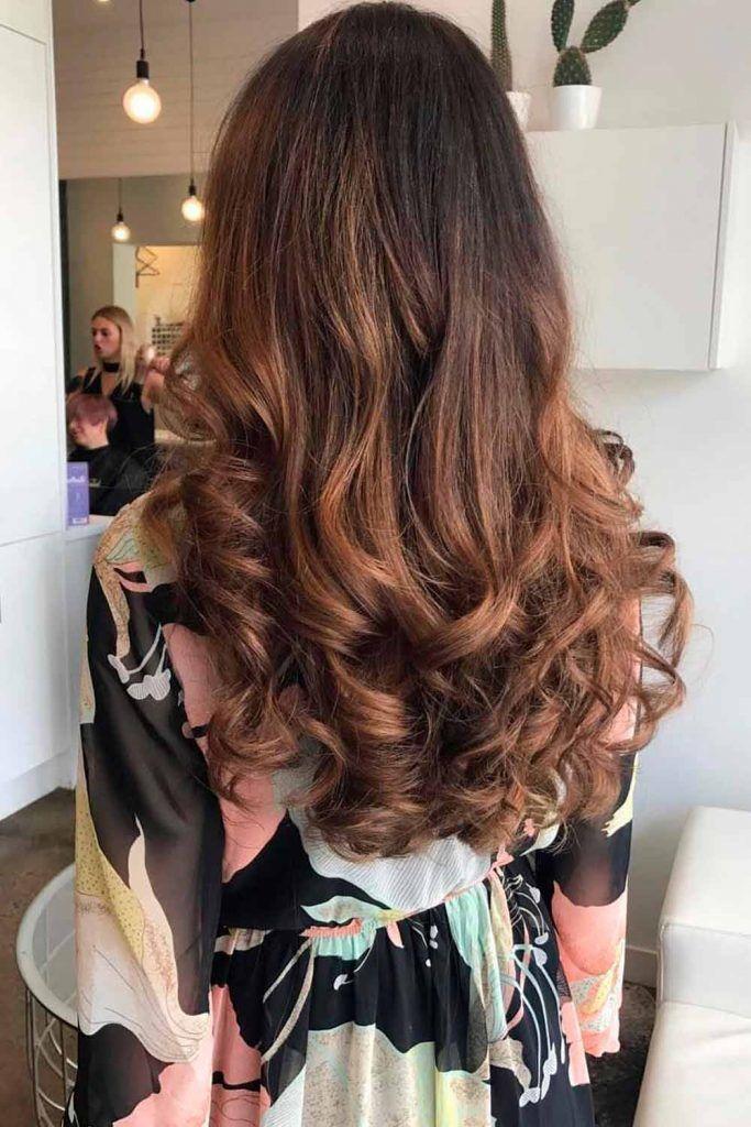 Chocolate Brown Hair With Chestnut Balayage