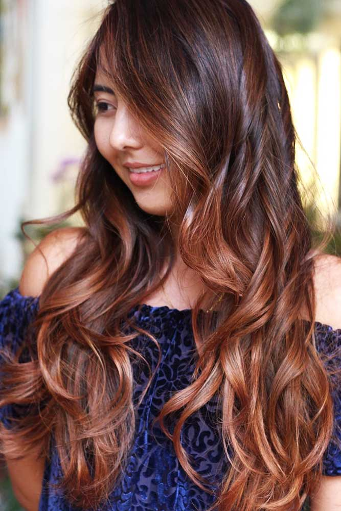 Chestnut Hair Color With Face-Framing Balayage #brownhair #brunette #balayage