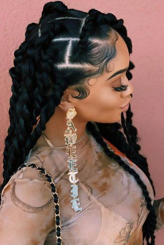 Big Twists #crochetbraids #braids