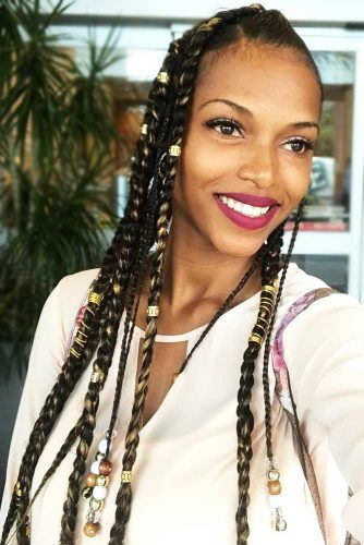 Adorn Your Braids With Funky Beads #braids #crochetbraids #longhair