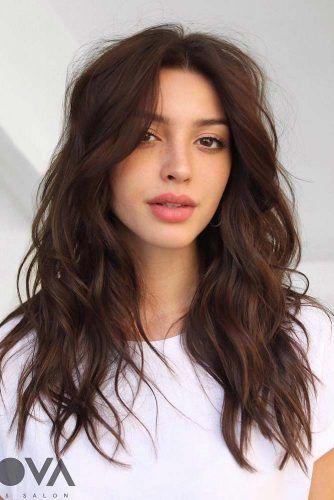 Lovely Long Layered Haircut #longhair #wavyhair