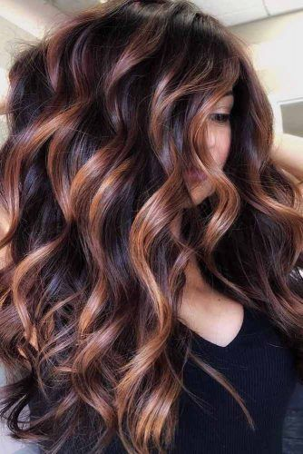 Side Parted Long Wavy Hairstyle  #faceshapes #heartface