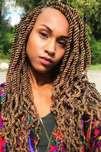 Marley Twists #fauxlocs #curlyhair