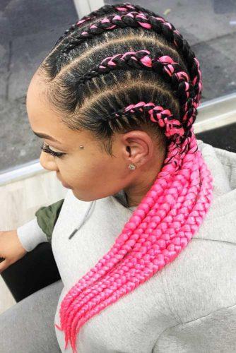 Funky Crochet Goddess Braids #goddessbraids #braids #longhair