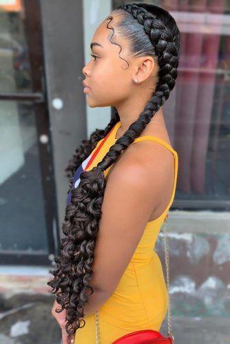 Goddess Cornrows #goddessbraids #braids