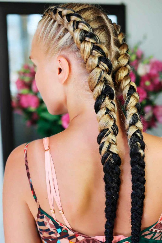 Double Dutch Goddess Braids