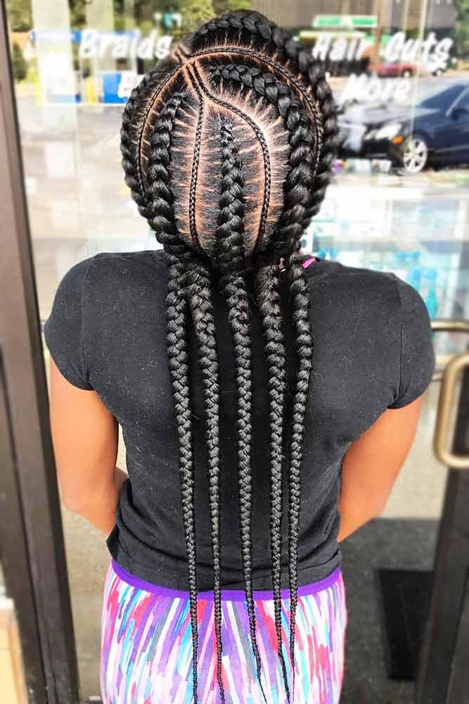 Captivating Dutch Goddess Braids #goddessbraids #braids #longhair