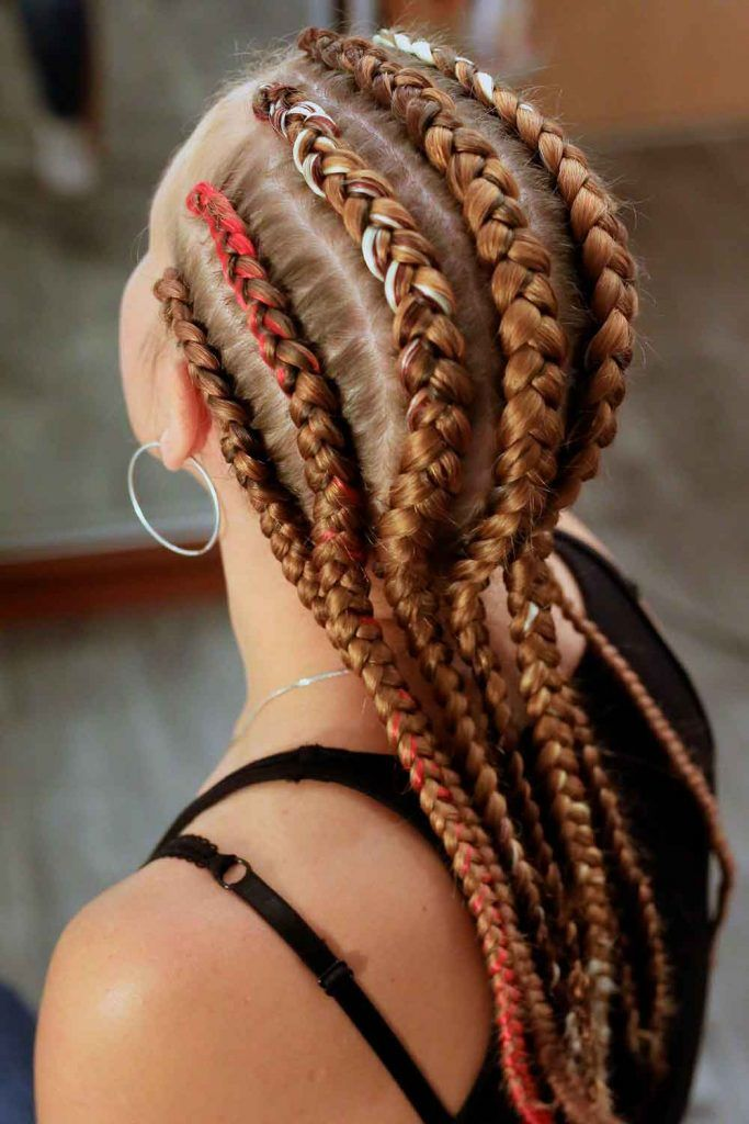Funky Crochet Goddess Braids