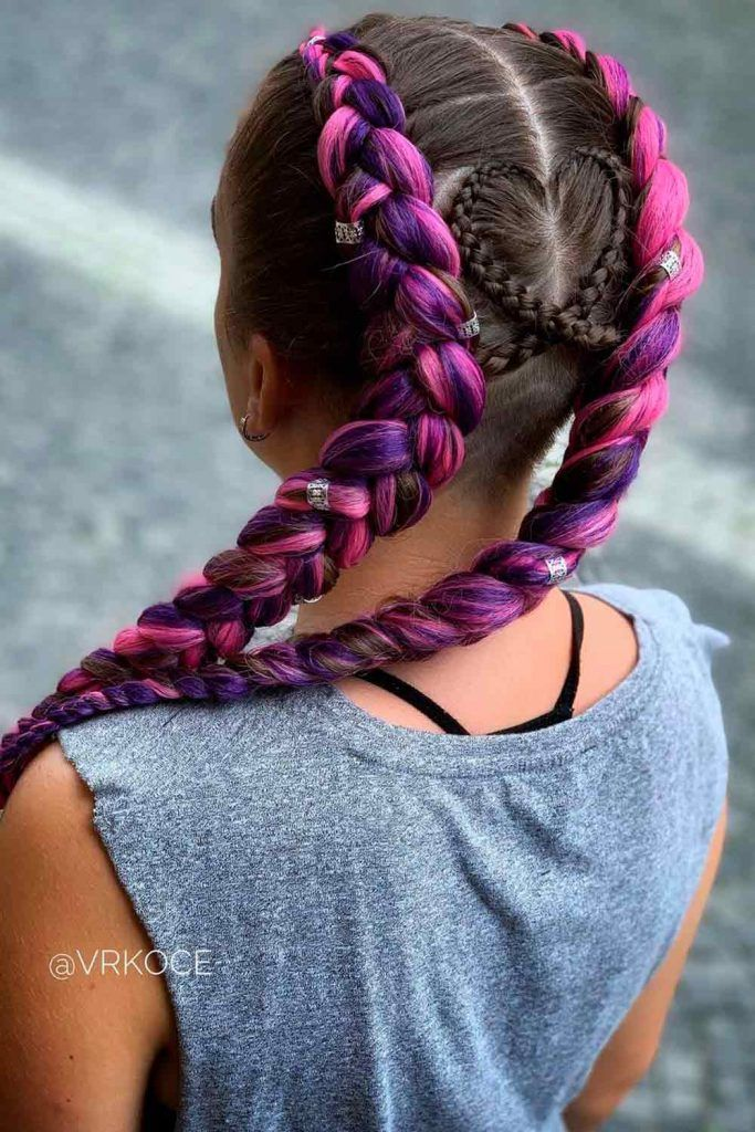 Double Jumbo Goddess Braids