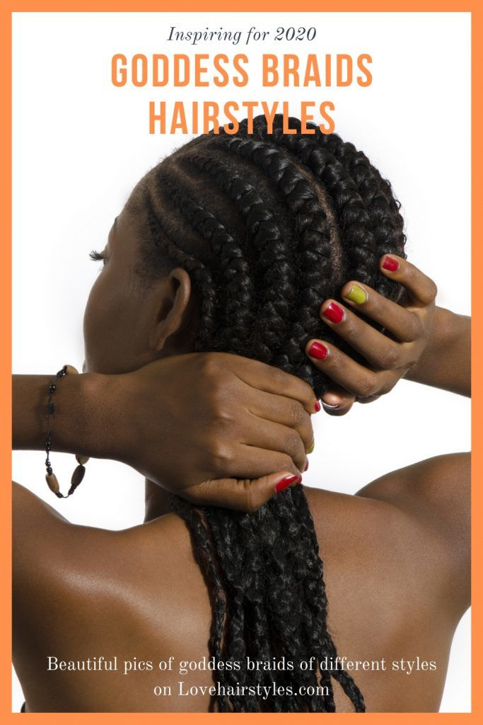 Feminine Goddess Braids Hairstyles To Add Some Ethnic Vibes To Your Style in That Season