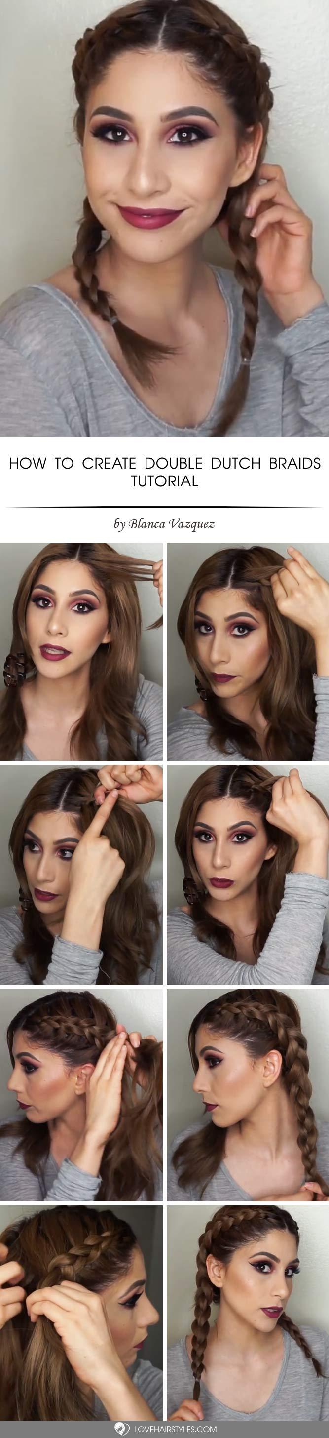 How to Create Double Dutch Braids #howtodutchbraid #dutchbraid #tutorials #braids #hairstyles