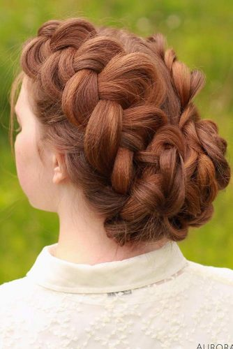 Double Dutch Braided Updo #howtodutchbraid #dutchbraid #braids #hairstyles