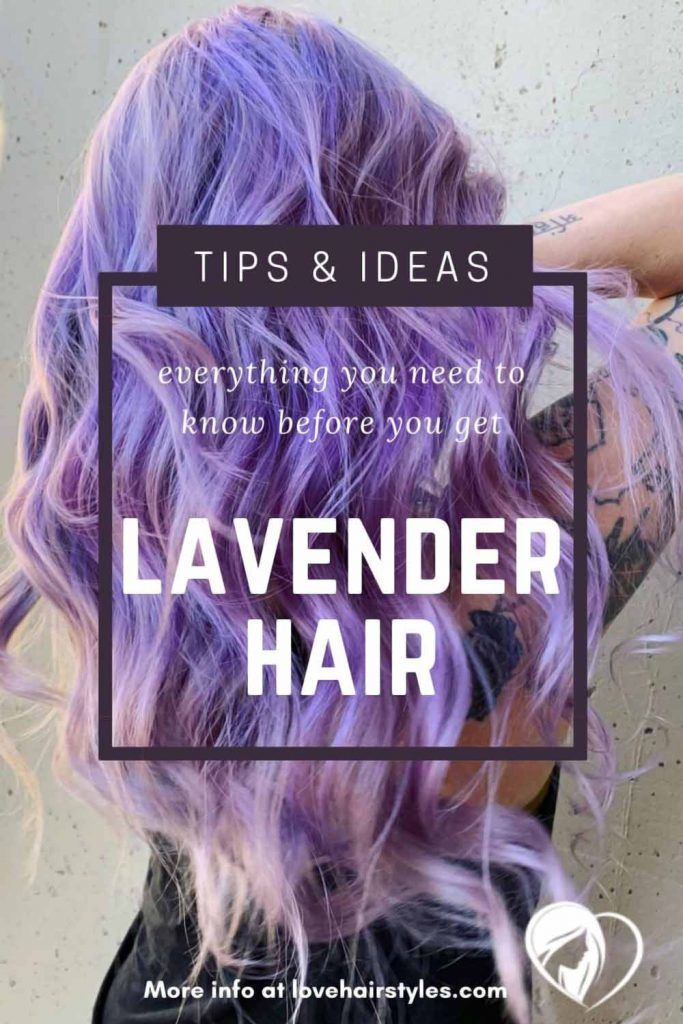 How Do You Maintain Lavender Hair? #lavenderhair