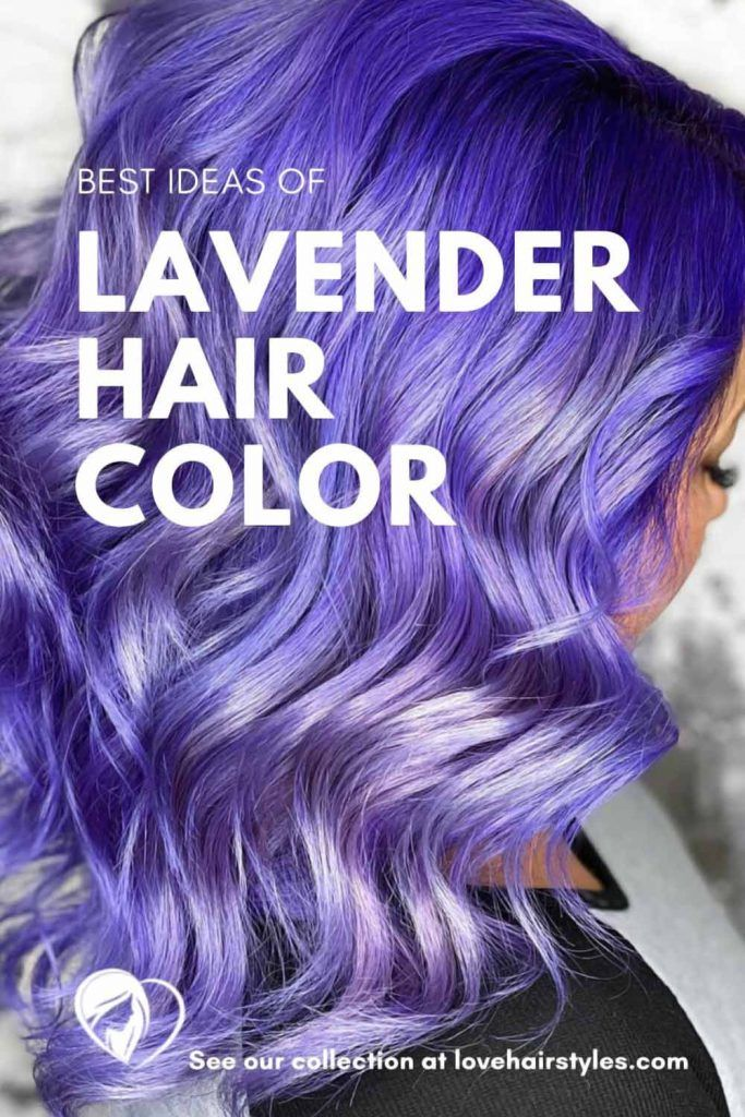 How Do You Get Lavender Hair? #lavenderhair