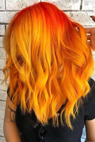 Fiery Phoenix #orangehair #redhair