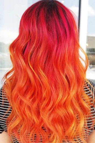 Tangerine Orange Ombre #orangehair #ombre