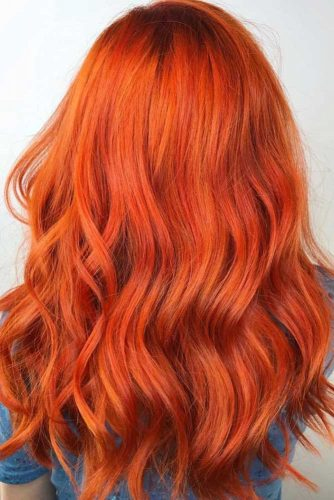 Discover The Captivating Orange Hair Rainbow: From Sweet Pumpkin To Burning Fiery Shades #orangehair #redhair