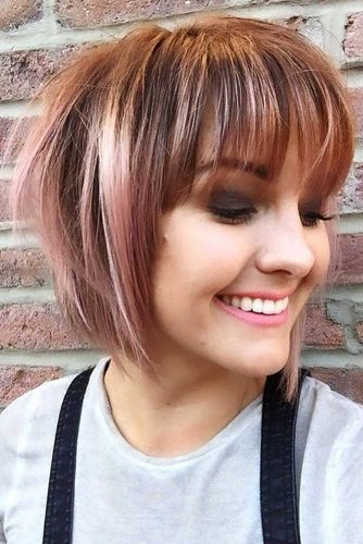 Funky Pageboy Cut With Edgy Layers #pageboyhaircut #shorthaircut #haircuts #bangs #straighthair