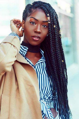 Senegalese Twist Styles #braids #longhair #naturalhair