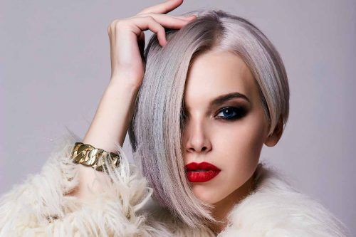 Let Style-Improving And Face-Flattering Asymmetrical Haircut In Your Life