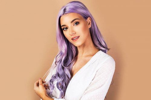 Glorious Lavender Hair Color To Embrace The Trend Of Now