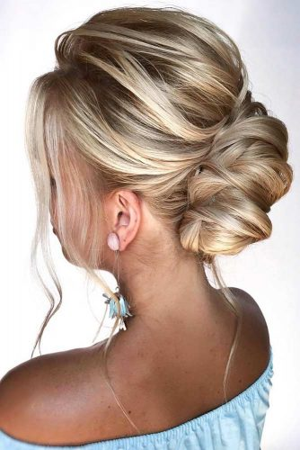 Messy Twisted Updo #longhair #updo