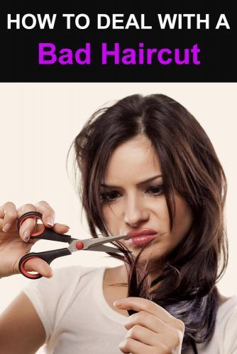 How To Deal With A Bad Haircut #badhaircuts