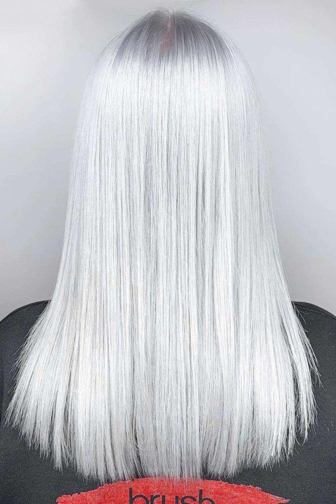 Silver Blonde #blondehair #blonde