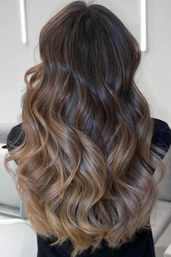 Light Ash Brown Ombre #brownhair #brunette