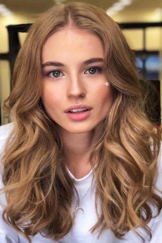 Light Caramel #brownhair #brunette