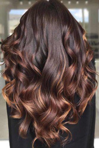 Mahogany Brown #brownhair #brunette