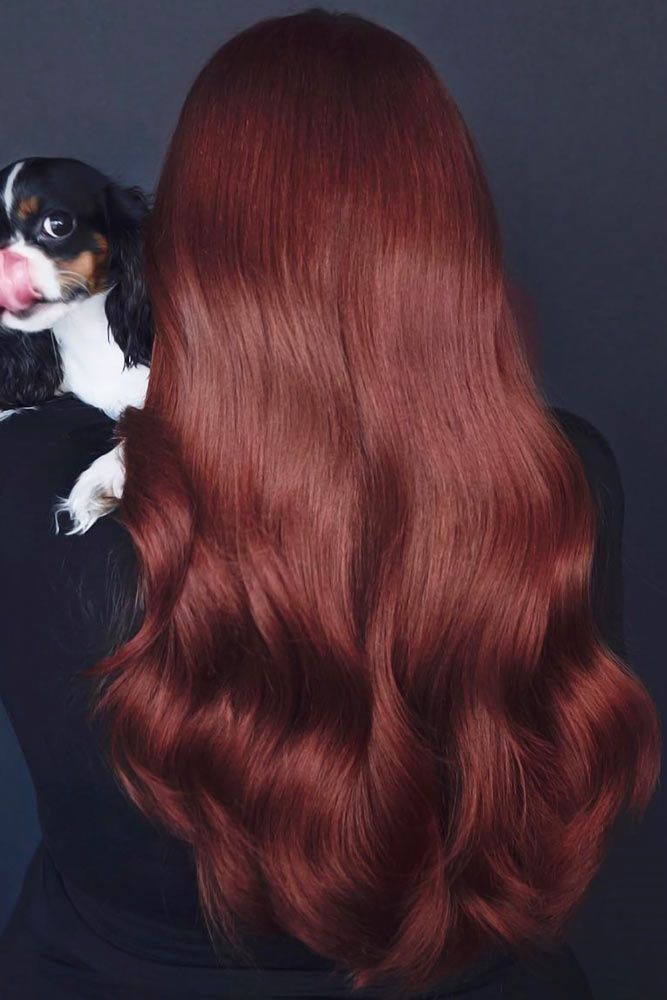 Red Brown #brownhair #brunette