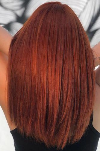 Bright Red Copper #redhair #copperhair