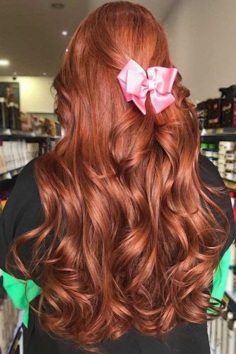 Shiny Cinnamon Copper #redhair #copperhair