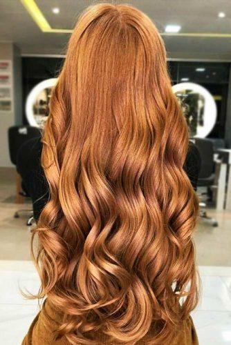 Deep Ginger Copper #redhair #longhair #wavyhair