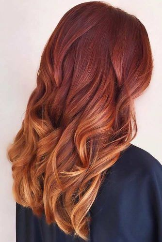Copper Melt Three-Tone Ombre #copperhair