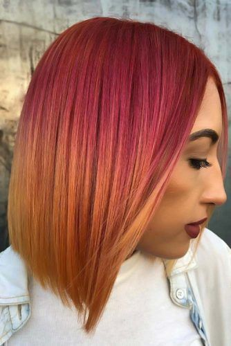 Pink To Copper #copperhair