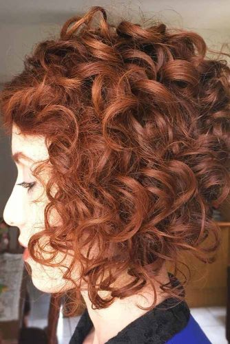 Rich Copper #redhair #curlyhair